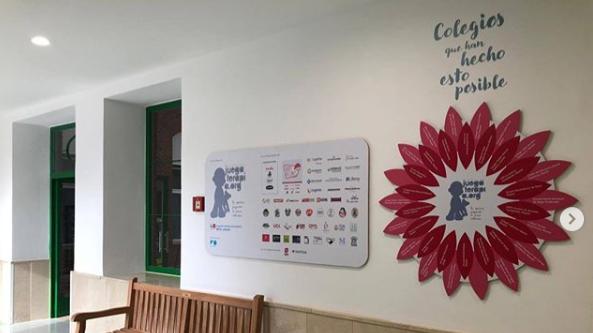 Iniciativa solidaria del colegio Juan de Valdés con la  Fundación Juegaterapia: Proyecto El Retiro invade el Niño Jesús