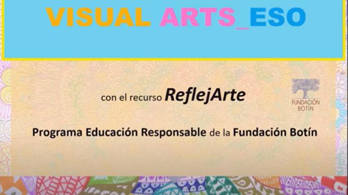 Visual ARTS_ESO: segundo vídeo - exposición virtual de obras... ¡Gran trabajo, artistas!