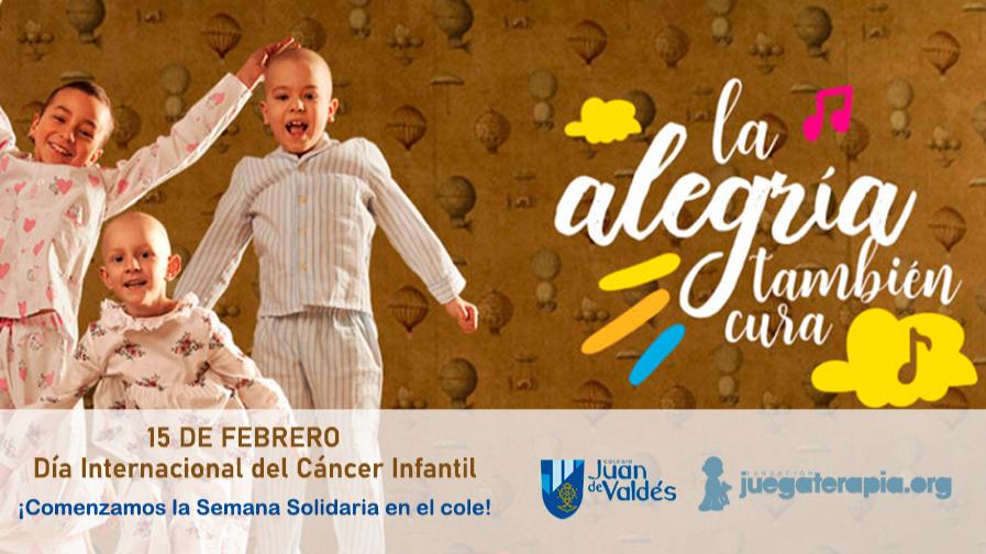 """15 de feb.: Día Internacional del Cáncer Infantil y """"Semana Solidaria"""""""