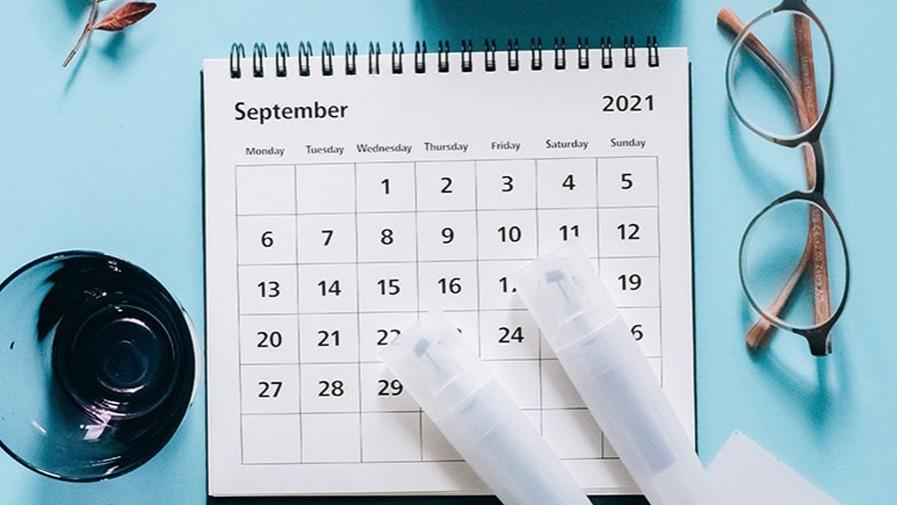 Fechas de inicio de curso 2021-2022