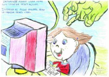 """Una alumna nuestra ha ganado el concurso """"Cuéntanos como hacer un buen uso de Internet"""""""