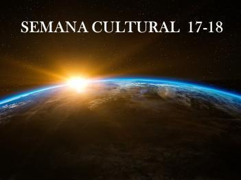 Semana Cultural 17-18