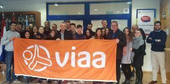 Visita alumnos del Hogeschool Viaa de Zwolle en Holanda