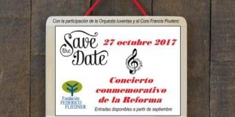 ¡Save the date! 27 de octubre de 2017