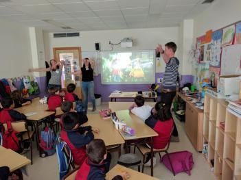 Holanda en el colegio El Porvenir