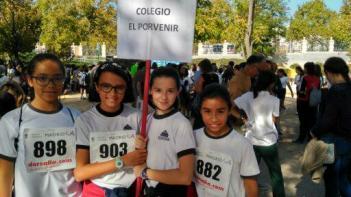 Éxito rotundo de nuestro colegio en el Cross del distrito de Chamberí