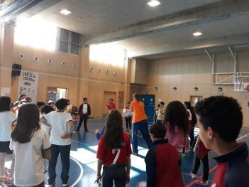 "VOLLEYBALL  ""PROFESIONAL"" EN EL COLE"