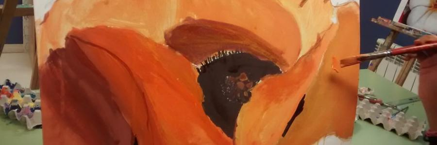 Taller sobre la vida y obra de Georgia O`Keeffe