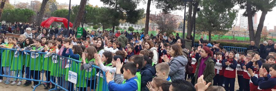 3º, 4º, 5º y 6º de Primaria en la XII Cross Escolar Chamberí 2018