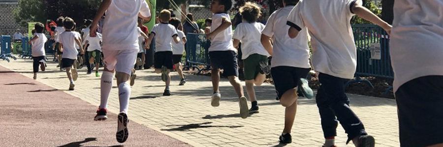 El viernes 26 de abril, 1º y 2º de Primaria participan en el  XI Crossito Prebenjamín Escolar Chamberí 2019