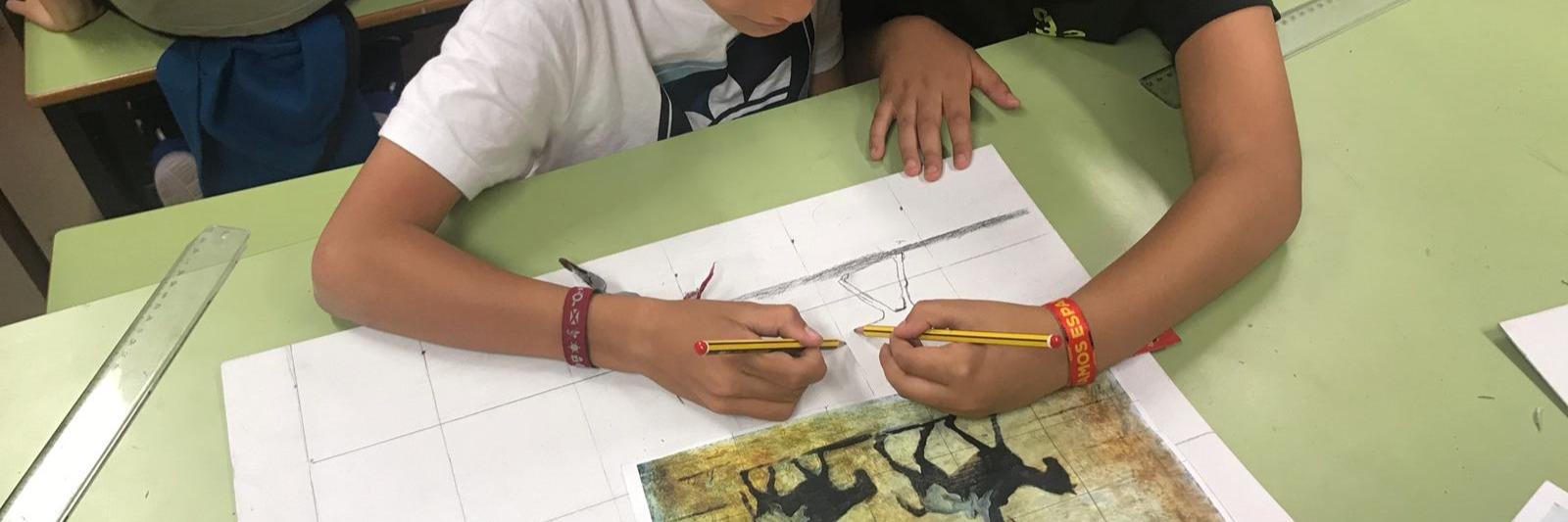 Los alumnos de 4º de Educación Primaria han realizado en el colegio un taller sobre la vida y obra de Honoré Daumier