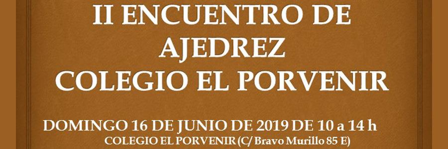 II Encuentro de Ajedrez en El Porvenir