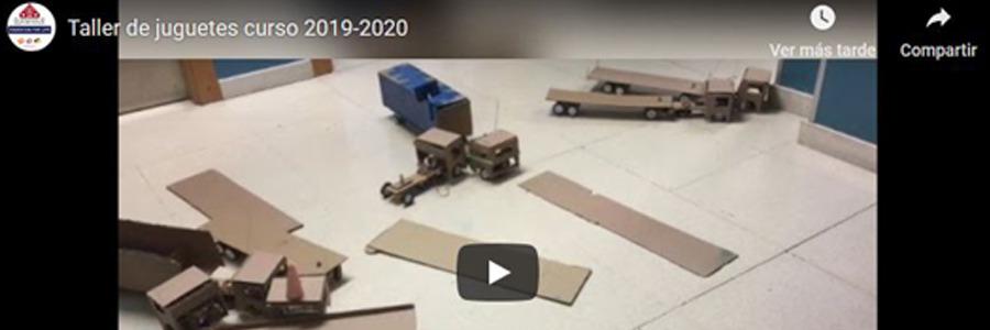 Taller de juguetes curso 2019-2020