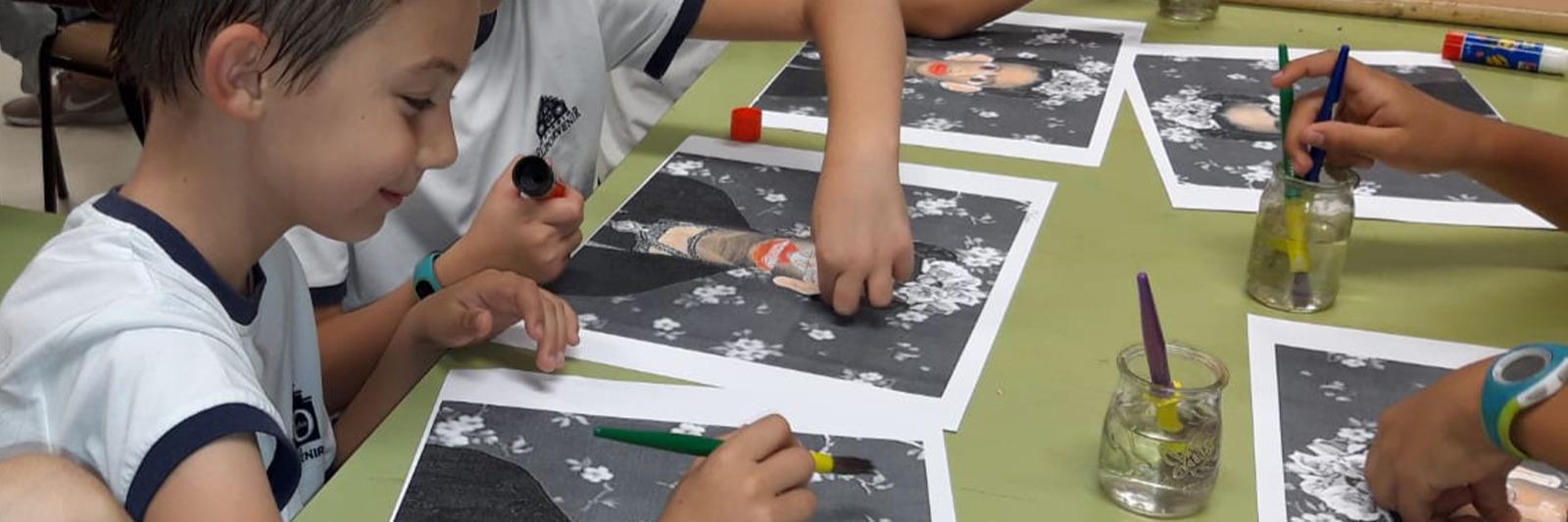 """Taller de Arte en 3º Primaria: """"Una mañana con Frida Kalho"""""""