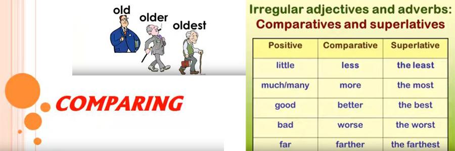 Comparing: clase de Herbert a sus alumnos de inglés de 6º Primaria