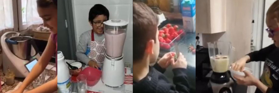 1st, 2nd and 3rd Grade: HOW TO MAKE A SMOOTHIE