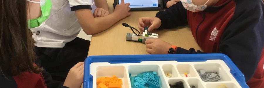 Robótica en 4º Primaria con Lego Education