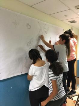 Los alumnos de 6º de primaria están trabajando los países de Europa.
