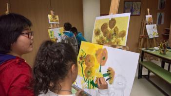 En 5º de Primaria estamos trabajando el Post Impresionismo