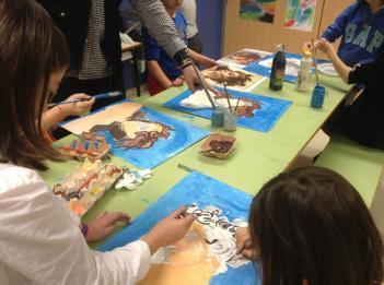 Los alumnos de 3º de educación Primaria está trabajando el Renacimiento