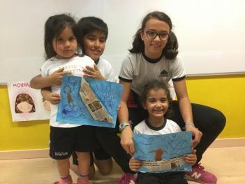 """Proyecto """"Juntos aprendemos y nos divertimos"""" (4 años B y 5º curso de Ed. Primaria)"""