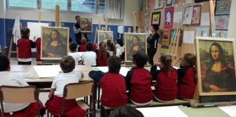 """Taller para 3º de Primaria: """"Leonardo: el artista científico"""""""