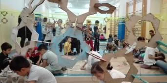 Taller de experimentación geométrica para los alumnos de 1º y 3º de Educación Primaria
