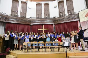 Graduación de los alumnos de 4º ESO