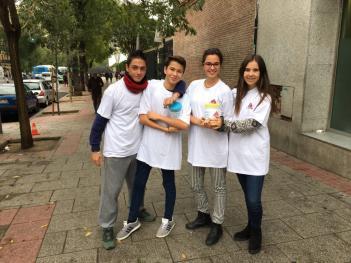 Bachillerato participa en el Aniversario del centro