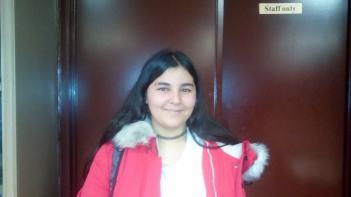 Mª Ángeles Hijón elegida Representante de Alumnos