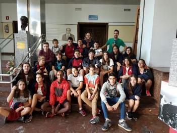 Alumnos de 3ºESO visitan las instalaciones del INEF