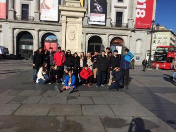 Los alumnos de 4ºESO visitan el Madrid de los Austrias
