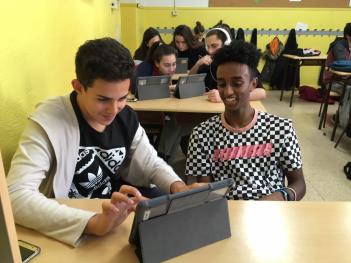 4ºESO viaja en  iPads por el mundo