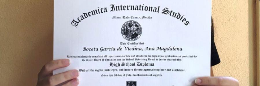 Graduada en Bachillerato Dual