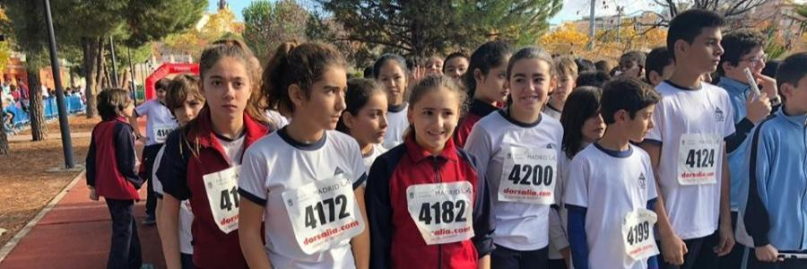 1º y 2º de ESO: XII Cross Escolar de Chamberí 2018