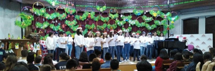 Fiesta de Navidad de Secundaria