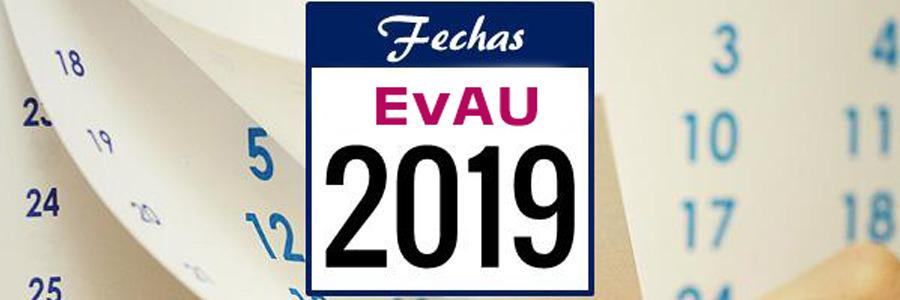 Ya conocemos las fechas y horarios de la CONVOCATORIA ORDINARIA EvAU 2019