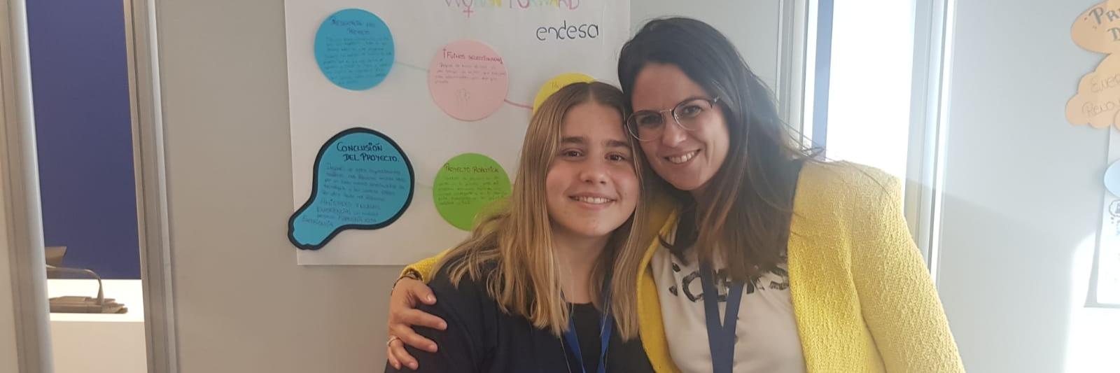"""Alumna de Secundaria participa en el programa """"ACERCANDO EL TALENTO"""""""