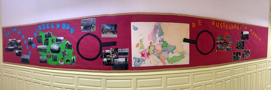 Nos visitaron los alumnos alemanes en octubre