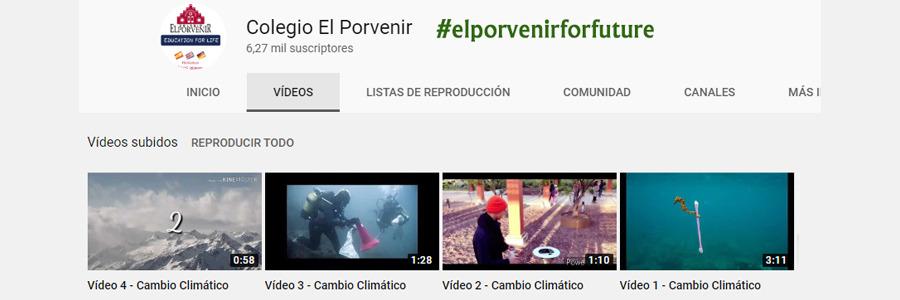 #elporvenirforfuture: 4º ESO hace una campaña a favor del medio ambiente (vídeos publicitarios)