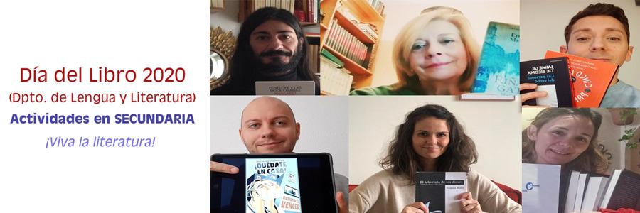 Proyecto Día del Libro 2020: ¿QUÉ TE HACE SENTIR LA LITERATURA?