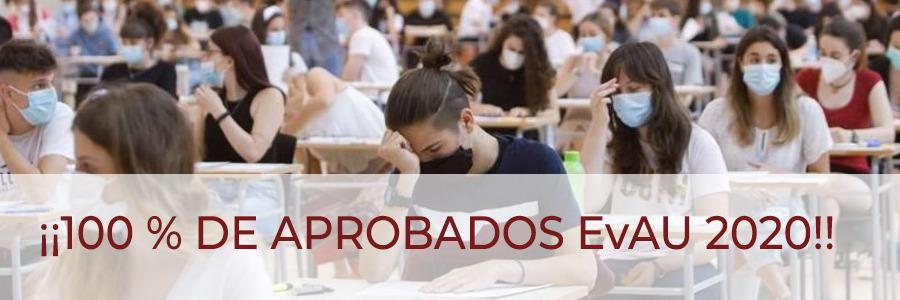 Bachillerato El Porvenir: 100 % de aprobados EvAU 2020