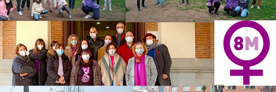 Profesores y alumnos de Secundaria celebran el Día de la Mujer