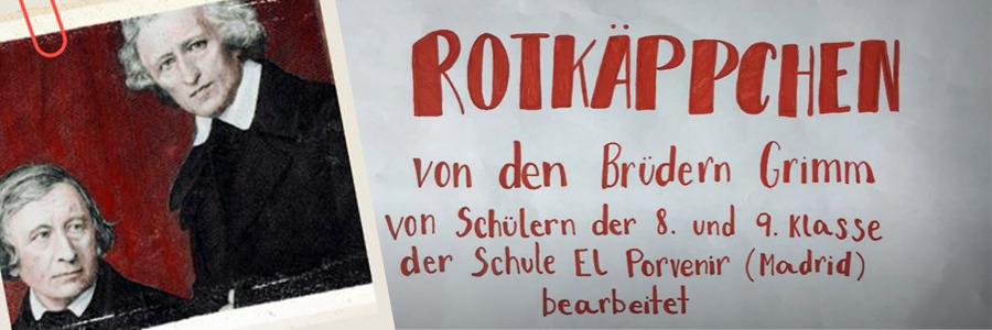 """2º ESO: celebramos el DÍA DEL LIBRO en Alemán con """"Caperucita Roja"""", de los hermanos Grimm"""