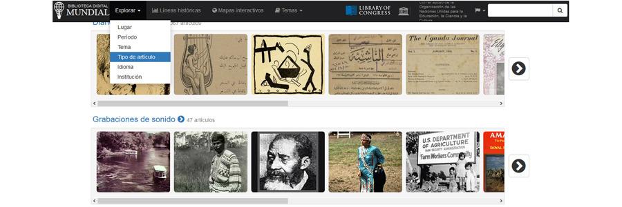 Biblioteca Digital Mundial: acceso a un gran contenido para aprovechar el tiempo culturalmente con vuestros hijos