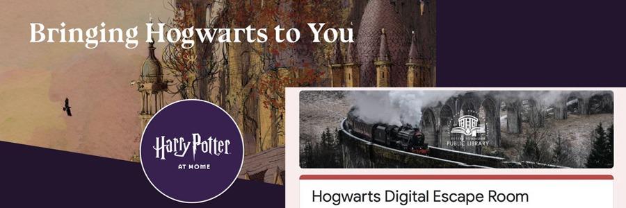 """Solo apto para fans declarados de Harry Potter: """"Harry Potter at Home"""" y """"Hogwarts Digital Escape Room"""""""