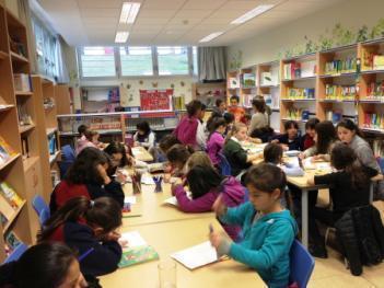 La biblioteca escolar... a pleno rendimiento