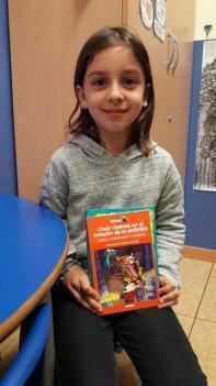 Una alumna de 2º de Primaria ha sido premiada en un concurso de cuentos