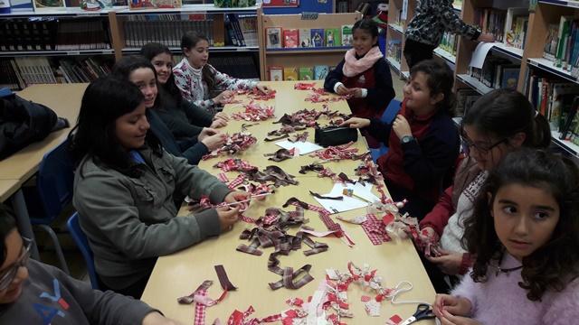Taller de San Valentín en la Biblioteca