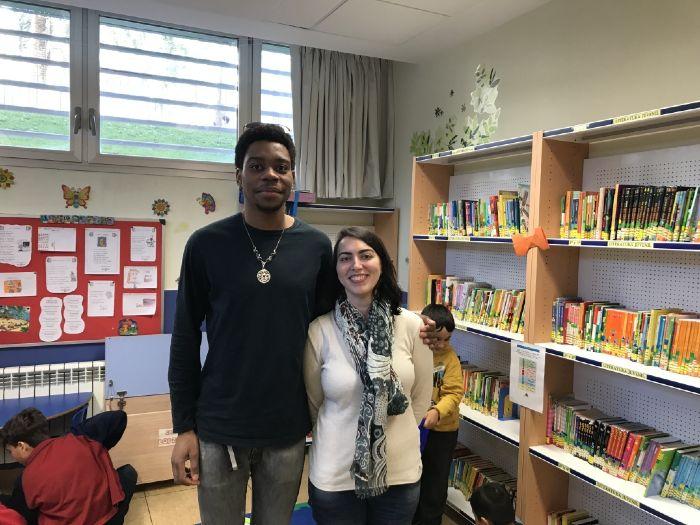 Bibliotecarios biblioteca escolar El Porvenir